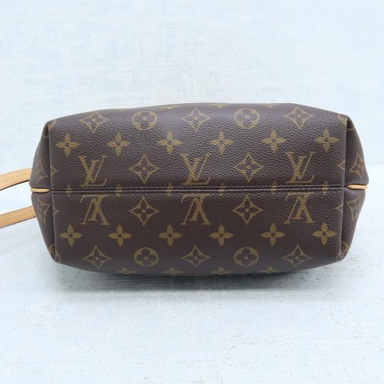 Louis Vuitton Lv Turenne Pm Monogram Canvas Satchel in Brown Image 5