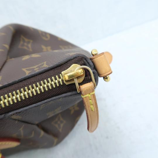 Louis Vuitton Lv Turenne Pm Monogram Canvas Satchel in Brown Image 8