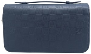 LOUIS VUITTON LOUIS VUITTON Graphite XL Eclipse Zippy Wallet