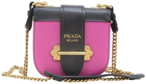 Prada City Pionniere Calfskin Shoulder Bag