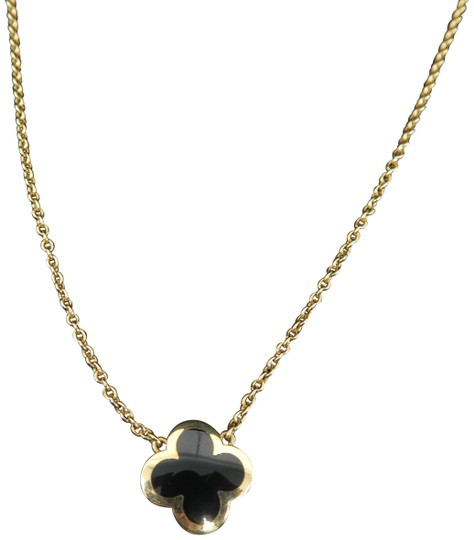 Preload https://img-static.tradesy.com/item/26374914/van-cleef-and-arpels-yellow-gold-onyx-pure-alhambra-pendant-necklace-0-5-540-540.jpg