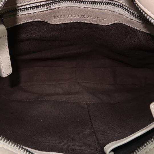 Burberry Brooklyn Haymarket Check Canvas Hobo Bag Image 9