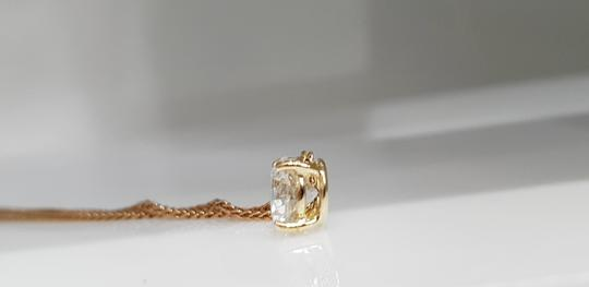 18k White Gold 14 Kt. Yellow with Pendant - 0.90 Ct Diamond Necklace Image 2