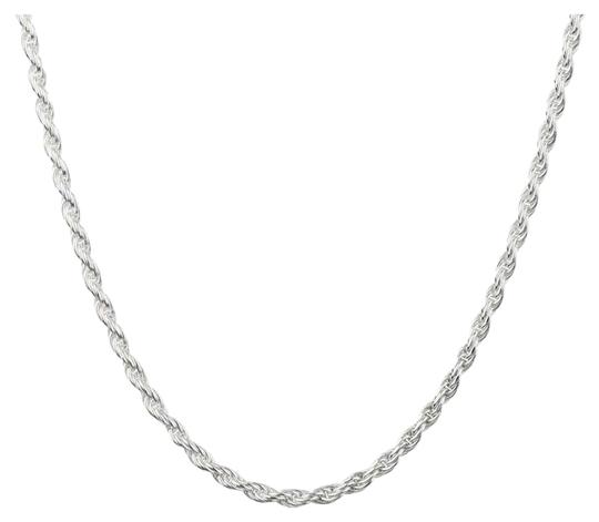 Preload https://img-static.tradesy.com/item/26375025/solid-925-sterling-silver-3mm-rope-chain-necklace-0-2-540-540.jpg