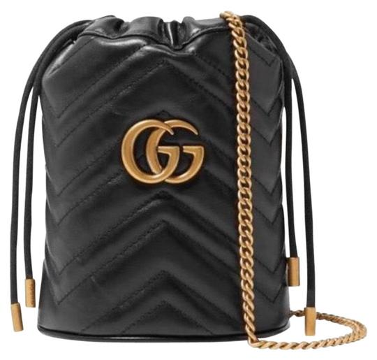 Preload https://img-static.tradesy.com/item/26375039/gucci-bucket-marmont-gg-mini-quilted-leather-black-cross-body-bag-0-2-540-540.jpg