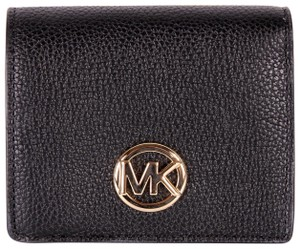 Michael Kors Michael Kors Fulton Jet Set Travel Pebble Leather coin Card wallet nwt