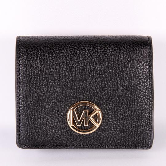 Michael Kors Michael Kors Fulton Jet Set Travel Pebble Leather coin Card wallet nwt Image 6