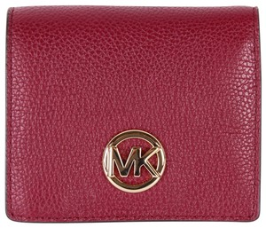 Michael Kors Michael Kors Fulton Jet Set Travel Pebble Leather coin Card wallet - item med img
