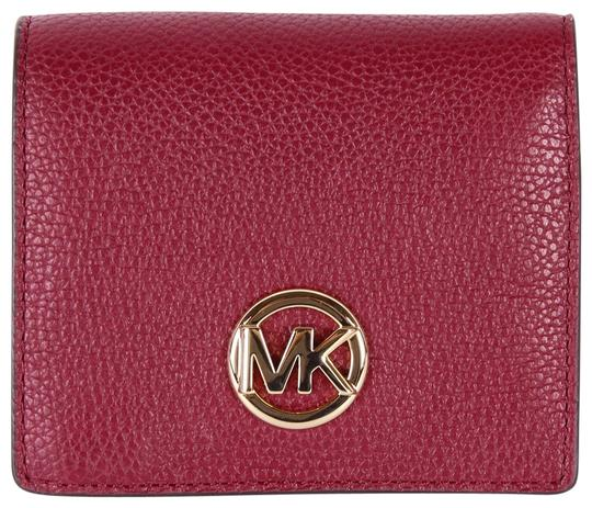 Michael Kors Michael Kors Fulton Jet Set Travel Pebble Leather coin Card wallet Image 0