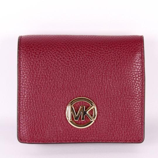 Michael Kors Michael Kors Fulton Jet Set Travel Pebble Leather coin Card wallet Image 7