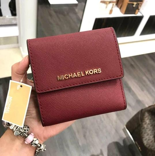 Michael Kors Michael Kors Small Trifold Wallet Card Case Carryall Jet set travel Image 8