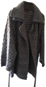 Missoni Cardigan Knit Pea Coat