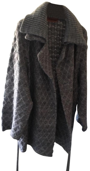 Preload https://img-static.tradesy.com/item/26375113/missoni-mulitcolor-wool-coatcardigan-coat-size-6-s-0-2-650-650.jpg
