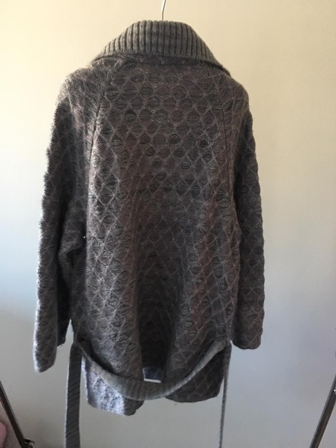 Missoni Cardigan Knit Pea Coat Image 2