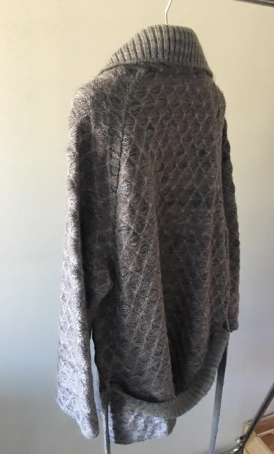 Missoni Cardigan Knit Pea Coat Image 4