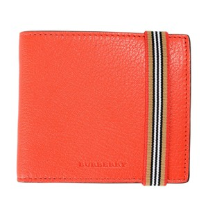 Burberry Burberry Leather Multi-Color Men's Bifold Wallet