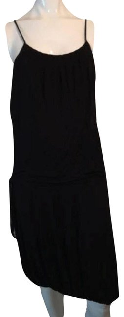 Preload https://img-static.tradesy.com/item/26375127/black-to-the-max-with-spaghetti-straps-mid-length-cocktail-dress-size-6-s-0-2-650-650.jpg