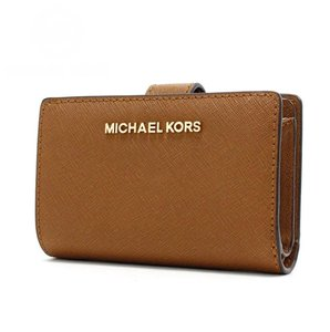 Michael Kors Michael Kors Jet Set Travel Bifold Zip Coin Wallet 35f7gtvF2l Luggage