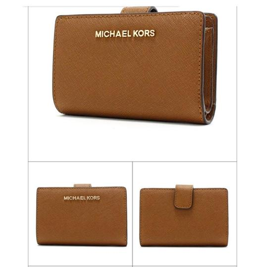 Michael Kors Michael Kors Jet Set Travel Bifold Zip Coin Wallet 35f7gtvF2l Luggage Image 7