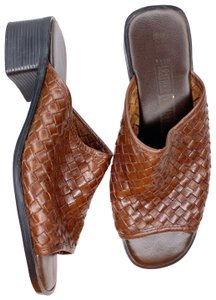 The Leather Collection Brown Sandals