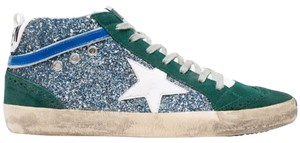 Golden Goose Deluxe Brand green and blue Athletic