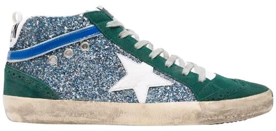Preload https://img-static.tradesy.com/item/26375272/golden-goose-deluxe-brand-green-and-blue-glitter-mid-star-sneakers-size-eu-39-approx-us-9-regular-m-0-2-540-540.jpg