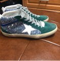 Golden Goose Deluxe Brand green and blue Athletic Image 1