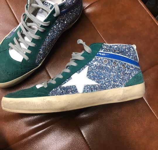 Golden Goose Deluxe Brand green and blue Athletic Image 3