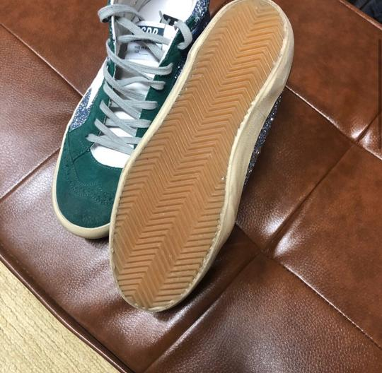 Golden Goose Deluxe Brand green and blue Athletic Image 4