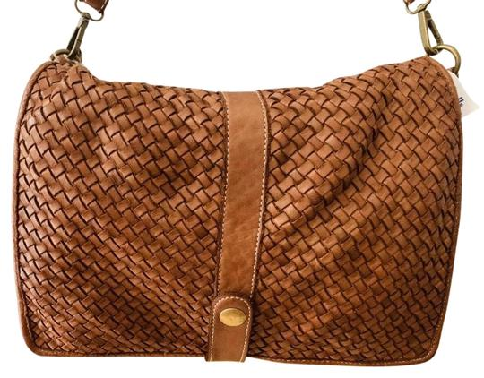 Preload https://img-static.tradesy.com/item/26375277/made-in-italy-wove-brown-leather-cross-body-bag-0-2-540-540.jpg