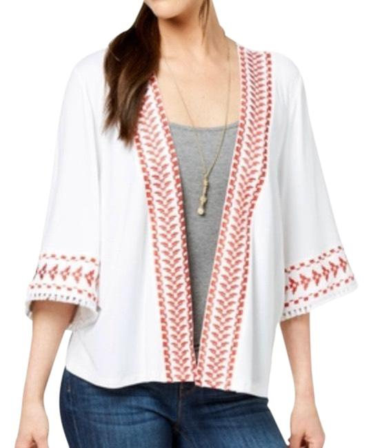 Preload https://img-static.tradesy.com/item/26375291/style-and-co-white-kimono-geo-trim-blouse-size-10-m-0-2-650-650.jpg