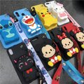 case for 7 plus 3D cute cartoon animal wallet lanyard phone case for iphone X XR XS 5S SE 11 pro MAX 8 6 plus stitch bear cover case for 7 plus 3D cute cartoon animal wallet lanyard phone case for iphone X XR XS 5S SE 11 pro MAX 8 6 plus stitch bear cover Image 1