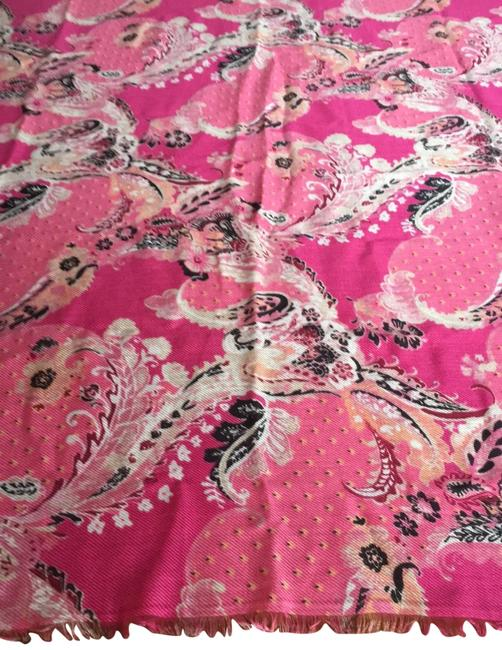 Item - Pink Multi Large Square Scarf/Wrap