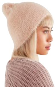 Urban Outfitters Urban Outfitters Soft Blush Pink Plush Winter Hat