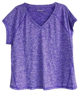 Ideology Purple Space Dyed Ideology Short Sleeve