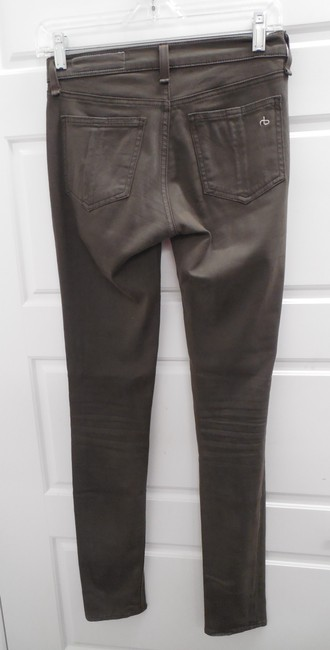 Rag & Bone Stretchy Jeans Khaki Leggings Image 2