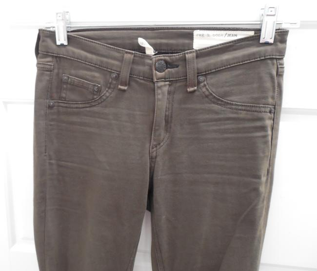 Rag & Bone Stretchy Jeans Khaki Leggings Image 3