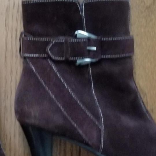 Aérosoles Size 9.5 Side Zip Brown suede Boots Image 1