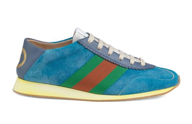 Item - Blue Limited Rocket Convertible Suede Sneakers Size EU 39.5 (Approx. US 9.5) Regular (M, B)