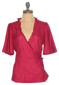 Marc by Marc Jacobs Wrap 8 Top RED