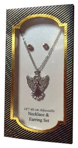 Angel Necklace + Earrings Boxed Set