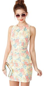 Nasty Gal short dress Multi Spring Mini on Tradesy
