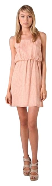 Alice + Olivia Pink Fallon Blouson Short Cocktail Dress Size 4 (S) Alice + Olivia Pink Fallon Blouson Short Cocktail Dress Size 4 (S) Image 1