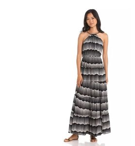 black and white Maxi Dress by T-Bags Los Angeles