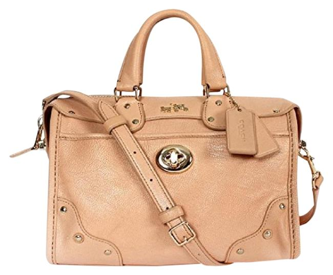 Item - Rhyder In Apricot Leather Satchel
