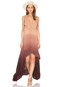 Cinnamon Maxi Dress by Blue Life California Ruffles Malibu Romantic Ombre