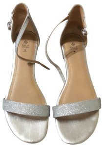 Call It Spring silver Flats
