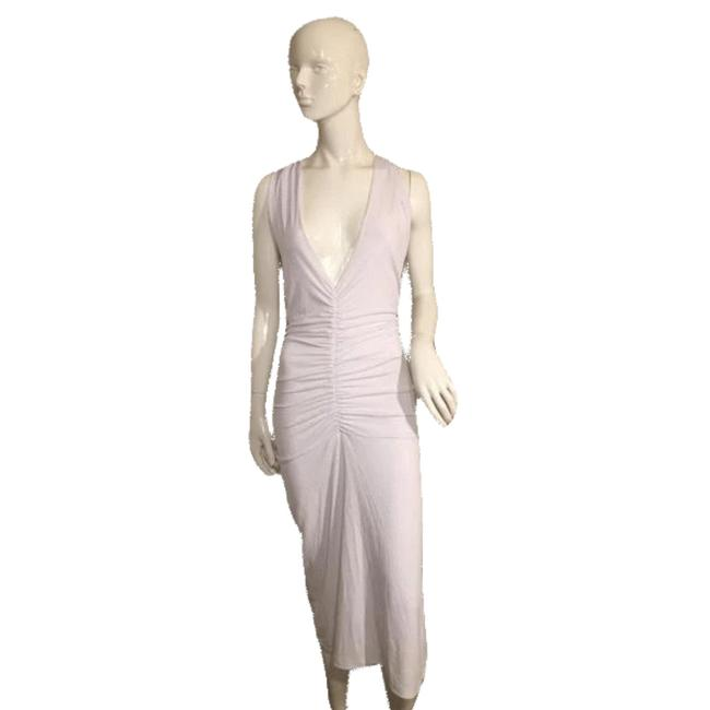 Item - White Collection Sexy Fitted Medium (Sku 000138) Long Cocktail Dress Size 10 (M)