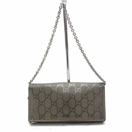 Preload https://img-static.tradesy.com/item/26379394/gucci-pewter-on-chain-imprime-monogram-gg-871633-wallet-0-0-540-540.jpg