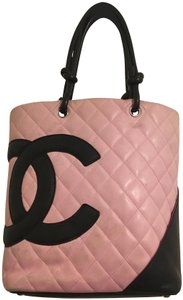 Chanel Tote in Pink and Black